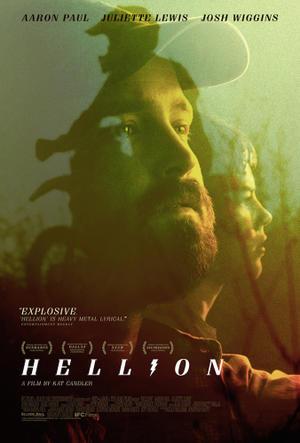 """Poster art for """"Hellion."""""""