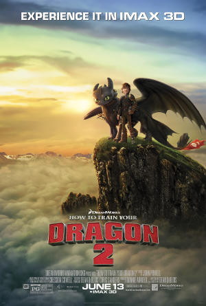 """Poster art for """"How To Train Your Dragon 2: An IMAX 3D Experience."""""""