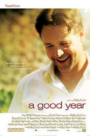 "Poster art for ""A Good Year."""
