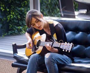 "Keira Knightley in ""Begin Again."""