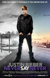 Justin Bieber: Never Say Never 3D showtimes and tickets
