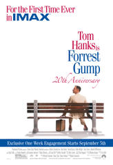 Forrest Gump: An IMAX Experience showtimes and tickets