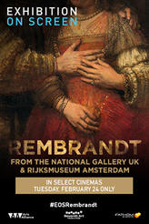 Exhibition OnScreen: Rembrandt showtimes and tickets