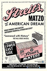 Streit's: Matzo and the American Dream showtimes and tickets