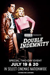 TCM presents Double Indemnity showtimes and tickets