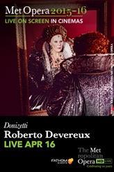 The Metropolitan Opera: Roberto Devereux LIVE showtimes and tickets