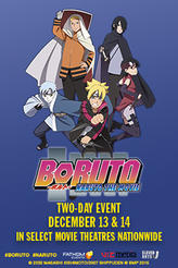 Boruto: Naruto the Movie showtimes and tickets