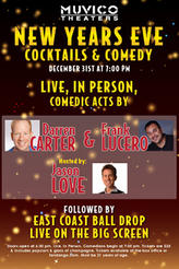 New Year's Eve Comedy showtimes and tickets