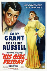 HIS GIRL FRIDAY / TOPPER showtimes and tickets