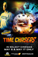 RiffTrax Live: Time Chasers showtimes and tickets