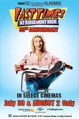 Fast Times at Ridgemont High (1982) presented by TCM showtimes and tickets