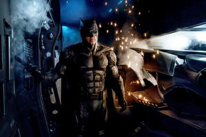 Zack Snyder Reveals Batman's Slick New Suit in 'Justice League' Photo