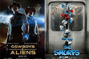 You Rate the New Releases: 'Cowboys & Aliens,' 'The Smurfs' and 'Crazy, Stupid, Love'