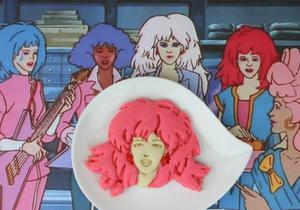 Rock Out with Outrageous Jem Sugar Cookies