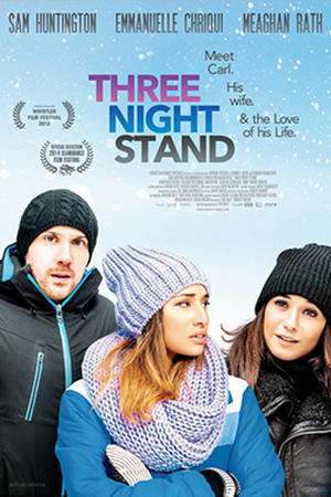 """Poster for """"Three Night Stand."""""""
