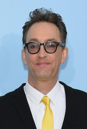 """Tom Kenny at the New York World premiere of """"The SpongeBob Movie: Sponge Out of Water."""""""