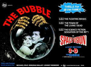 "Poster art for ""The Bubble."""