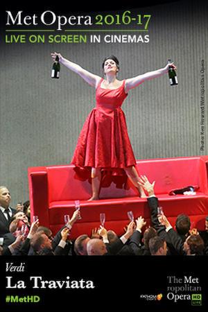 """Poster art for """"The Metropolitan Opera: La Traviata Encore."""""""