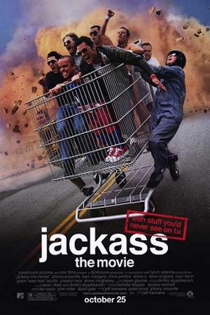 "Poster art for ""Jackass."""