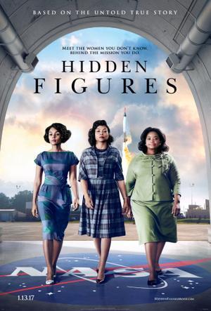 "Poster art for ""Hidden Figures"""