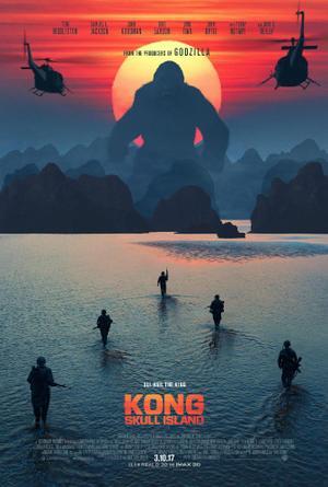 """Poster art for """"Kong: Skull island."""""""