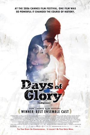 "Poster art for ""Days of Glory."""