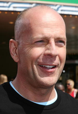"""Bruce Willis at the Los Angeles premiere of """"Over the Hedge"""""""