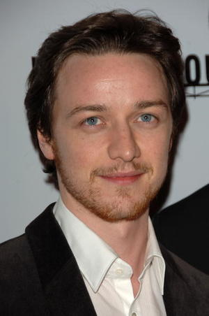 """""""Starter for 10"""" star James McAvoy at the L.A. premiere."""