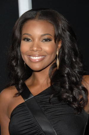 """Tyler Perry's """"Daddy's Little Girls"""" star Gabrielle Union at the Hollywood premiere."""