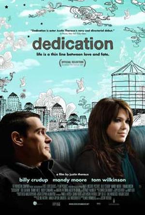 """Poster art for """"Dedication."""""""