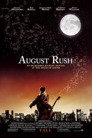 "Poster art for ""August Rush."""