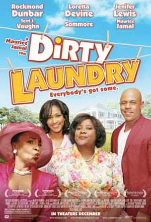 """Poster art for """"Dirty Laundry."""""""