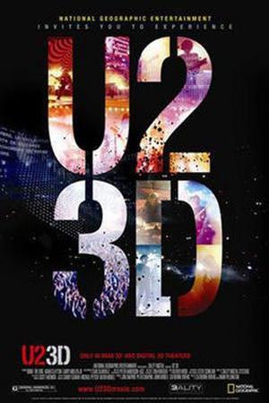 "Poster art for ""U2 3D."""