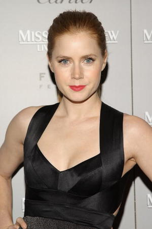 "Actress Amy Adams at the N.Y. premiere of ""Miss Pettigrew Lives For A Day."""