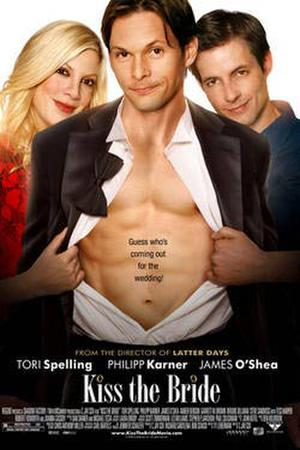 """Poster art for """"Kiss the Bride."""""""