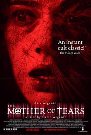"""Poster art for """"Mother of Tears: The Third Mother."""""""
