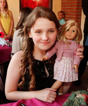 """Abigail Breslin at the afterparty of the California premiere of """"Kit Kittredge: An American Girl."""""""