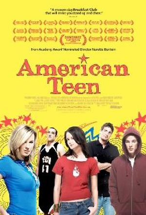 "Poster art for ""American Teen."""