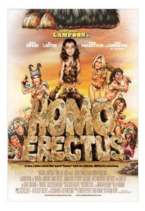 """Poster art for """"National Lampoon's Homo Erectus."""""""