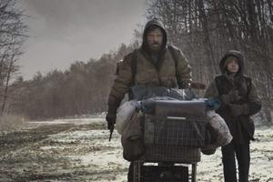 "Viggo Mortensen and Kodi Smit-McPhee in ""The Road."""