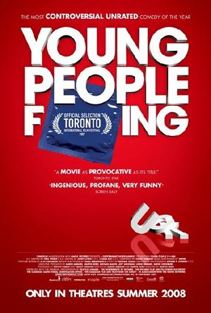 """Poster Art for """"Young People F...ing."""""""