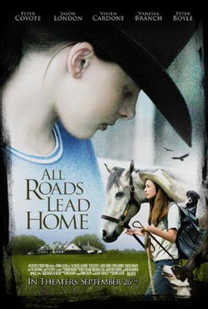 "Poster art for ""All Roads Lead Home."""