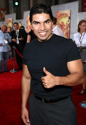 """Eddie """"Piolin"""" Sotelo at the world premiere of """"Beverly Hill Chihuahua."""""""