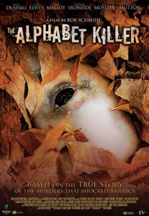 """Poster art for """"The Alphabet Killer."""""""