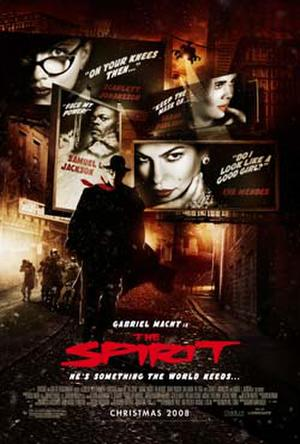 """Poster art for """"The Spirit."""""""