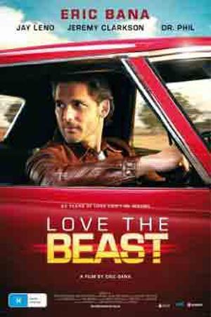 "Poster art for ""Love the Beast."""