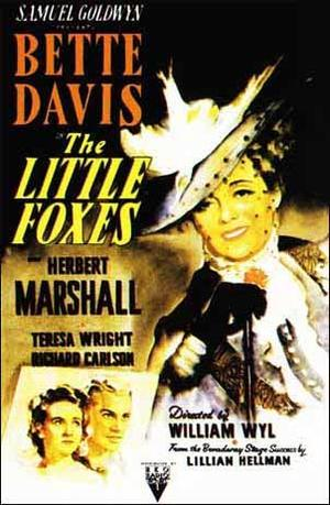 """Poster art for """"The Little Foxes."""""""