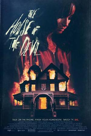 """Poster art for """"The House of the Devil."""""""