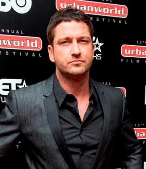 """Gerard Butler at the New York premiere of """"Law Abiding Citizen."""""""