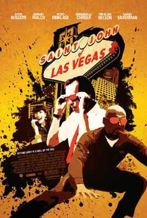 """Poster art for """"Saint John of Las Vegas."""""""